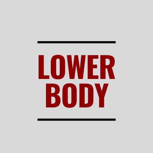 Lower Body Workout Ideas