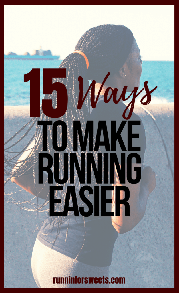 Sometimes running is hard. Whether you're a beginner runner or seasoned pro, we all find ourselves wondering why running is so hard from time to time. Here is the truth about why running is hard, and 15 ways to make running easier! #runningishard #makerunningeasier