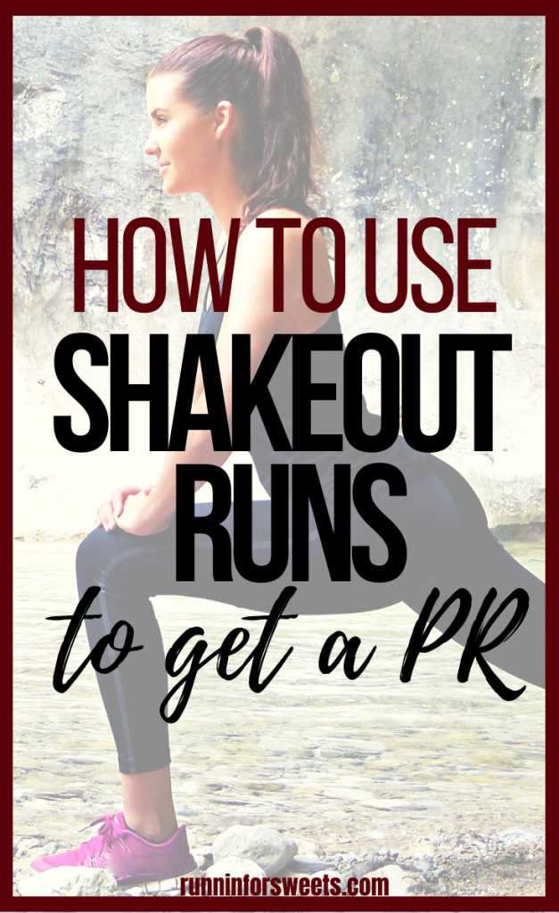 Adding a shakeout run to your pre-race routine can help you get that PR. Here is how to incorporate a shakeout run and 6 benefits you won't want to miss! #shakeoutrun #runningPR