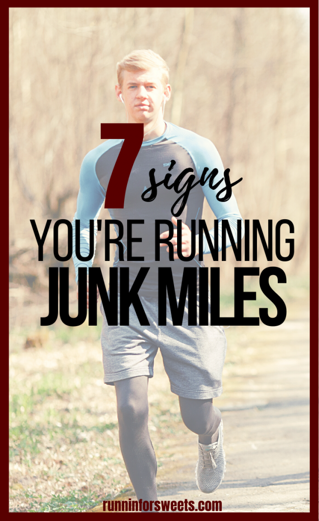 Here are 7 signs you might be running junk miles... and how getting rid of them can improve your training. Cutting out a junk run can help increase speed and endurance in running.