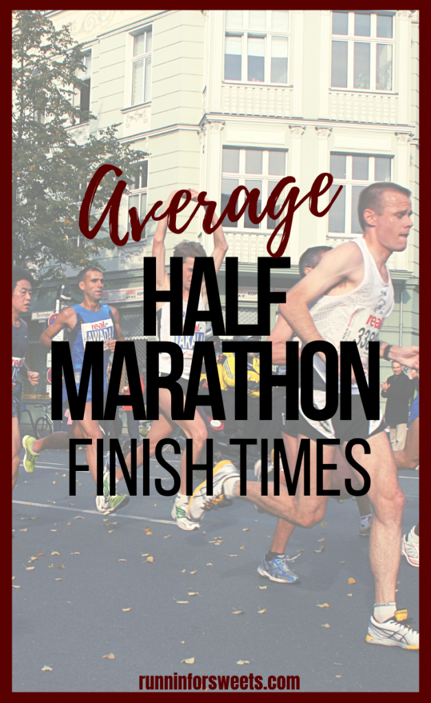 Here's a breakdown of the average half marathon time by age and gender. Plus, how to determine what a 'good' half marathon time is!